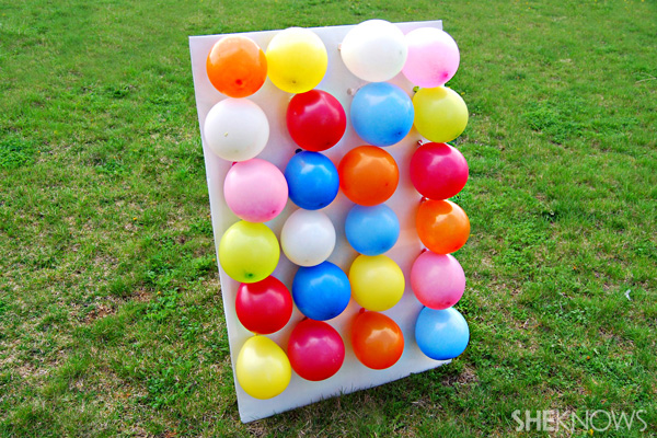 Fun Outdoor Games - Carnival Games - Balloon Darts by She Knows