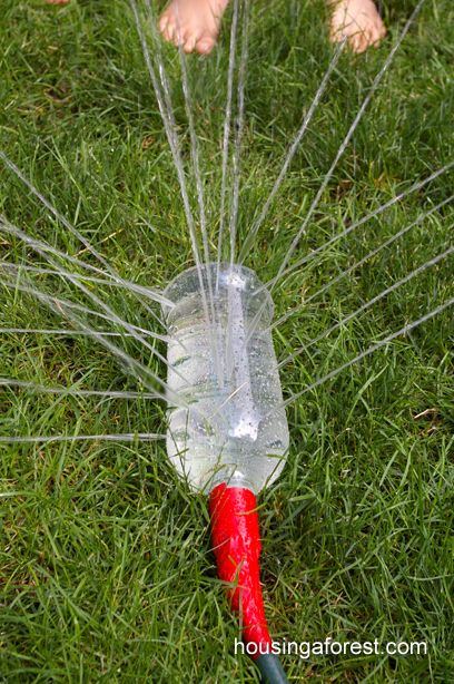 Fun Outdoor Games - DIY Sprinkler by Housing a Forest