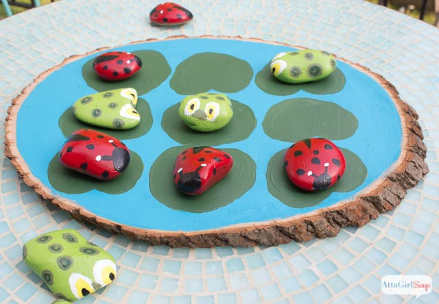 Fun Outdoor Games - Tic Tac Toe by Atta Girl Says