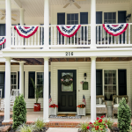 Patriotic Porch Ideas - Fourth of July Porches - Home Stories A to Z