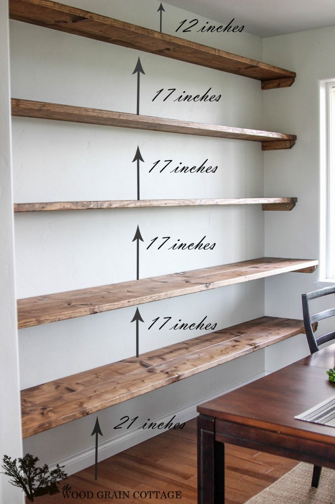 Simple Building Projects to Add Character to Your Home - Adding Shelving to Your Home by The Wood Grain Cottage