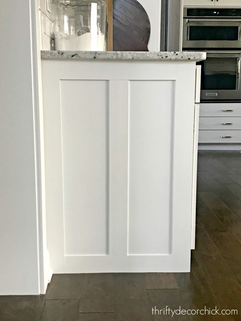 Simple Building Projects to Add Character to Your Home - Adding Trim to Cabinets by Thrifty Decor Chick