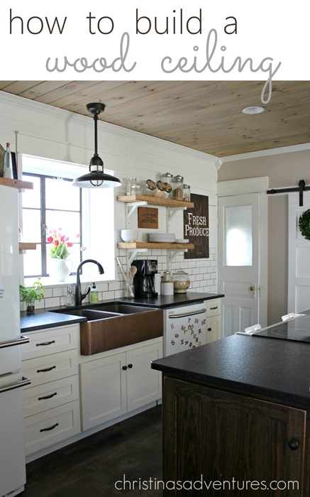 Simple Building Projects to Add Character to Your Home - How to Build a Wood Ceiling