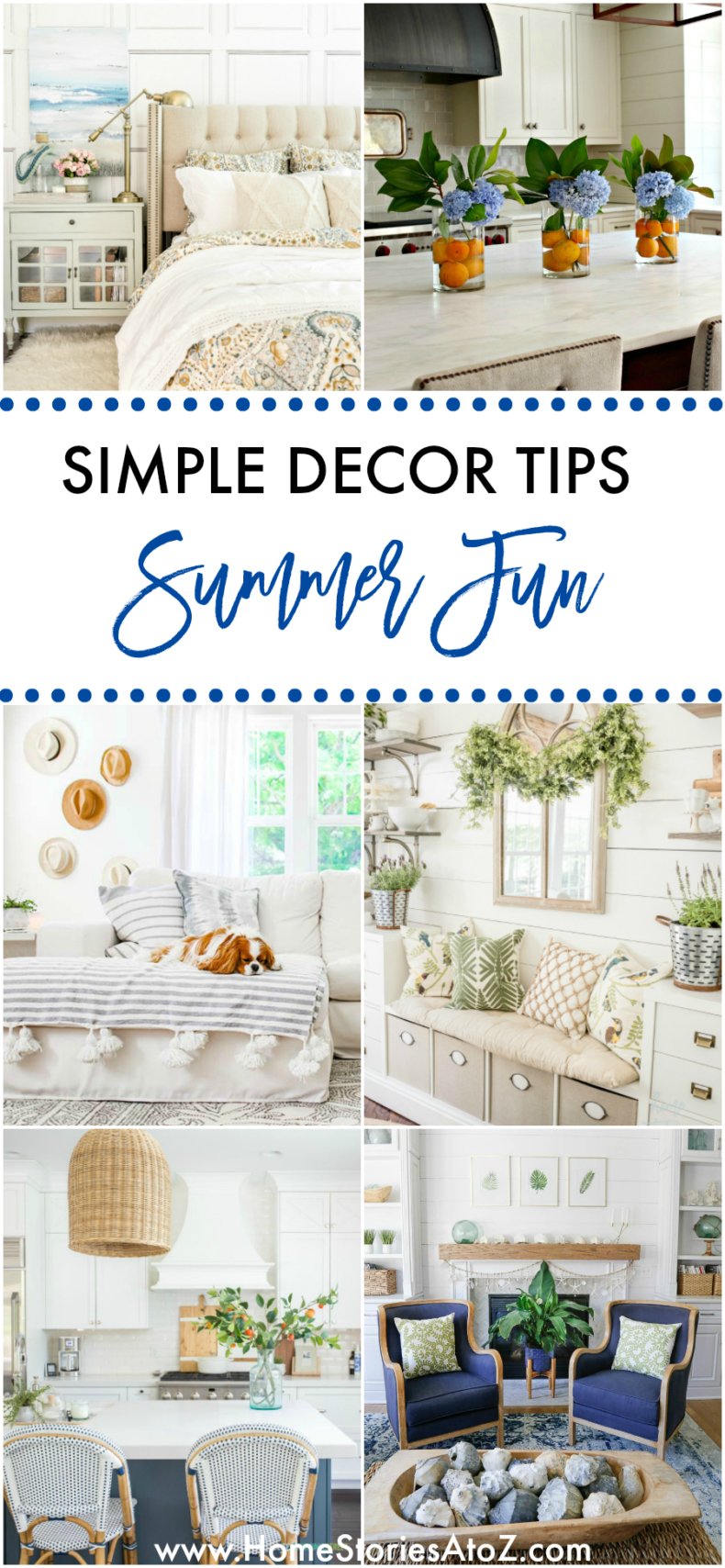 Simple Decor Tips for Summer Fun