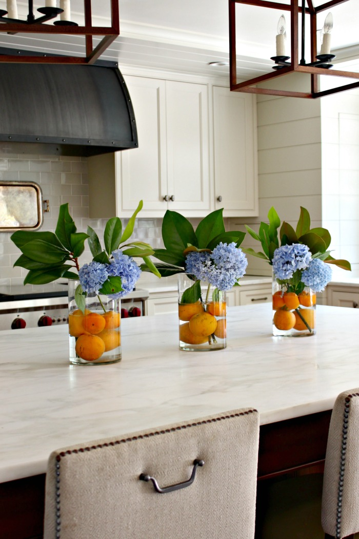 Summer Decor Ideas - Perfect Hydrangea Arrangement by Southern State of Mind