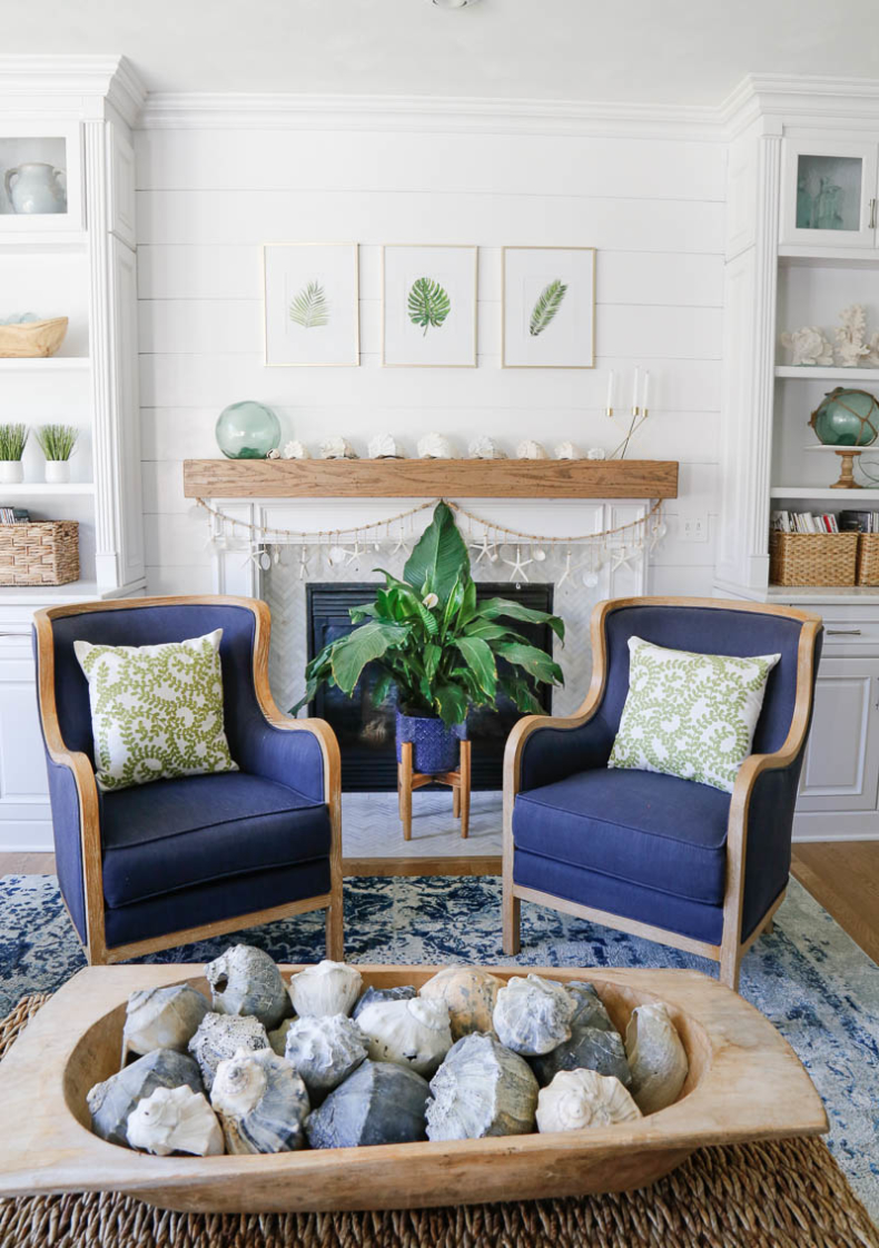 Summer Decor Ideas - Summer Beach Retreat by Sand & Sisal