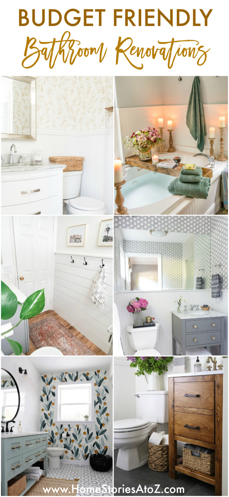 Budget Friendly Bathroom Renovation Ideas