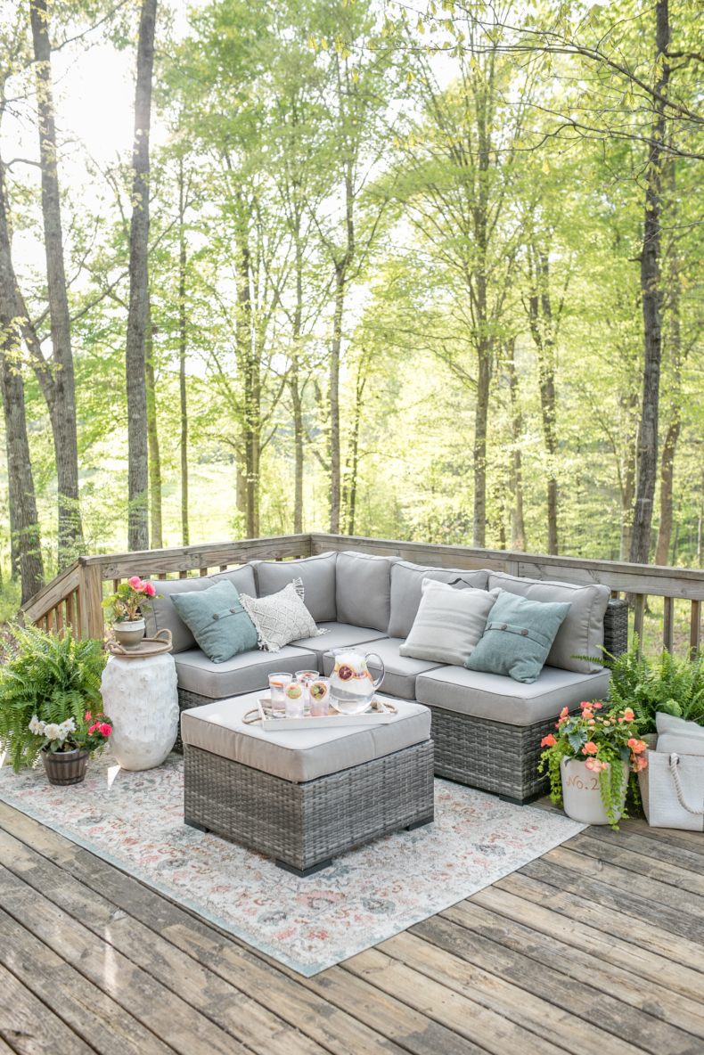 DIY Backyard Projects - Outdoor Decorating Tips by Home Stories A to Z