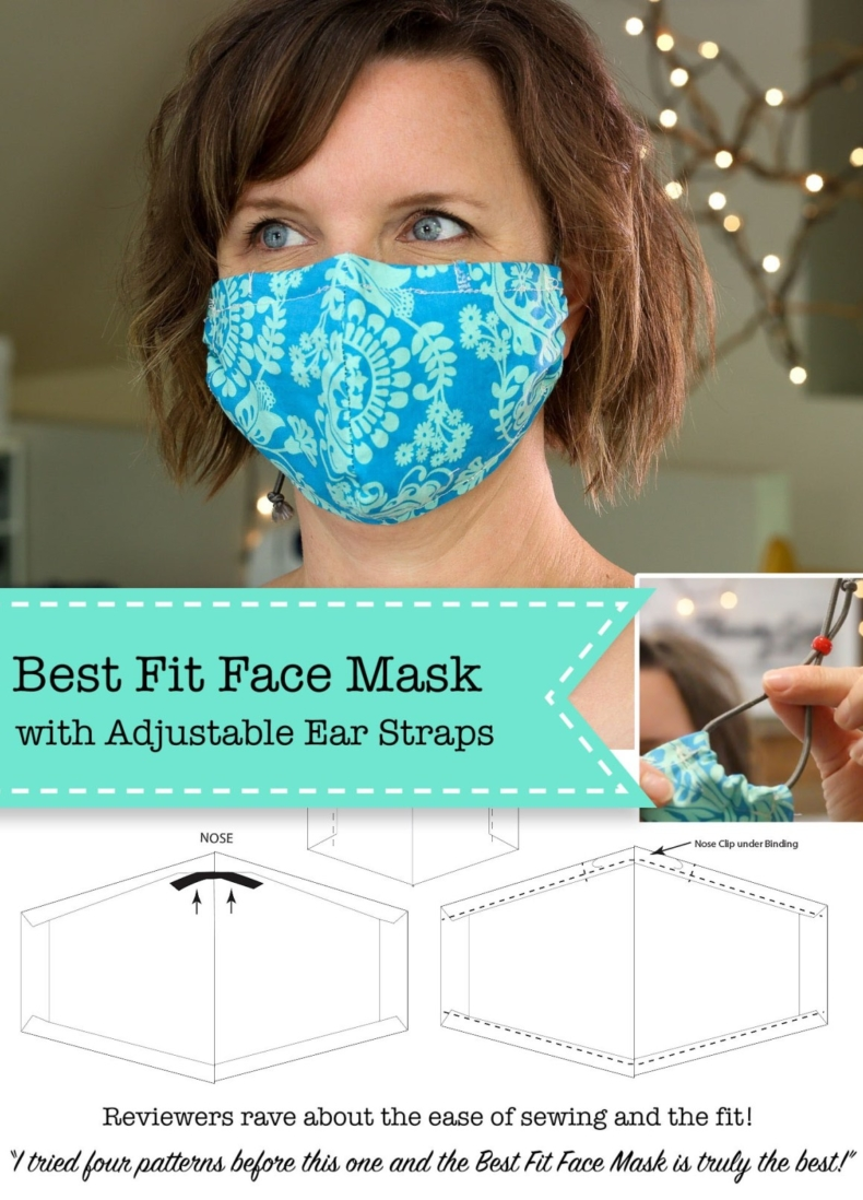 Fun Gifts and Crafts to Make This Summer - Face Mask Tutorial by Pretty Handy Girl