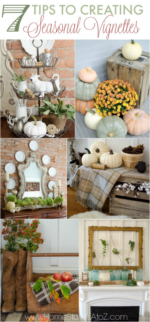 Seasonal Vignettes by Home Stories A to Z