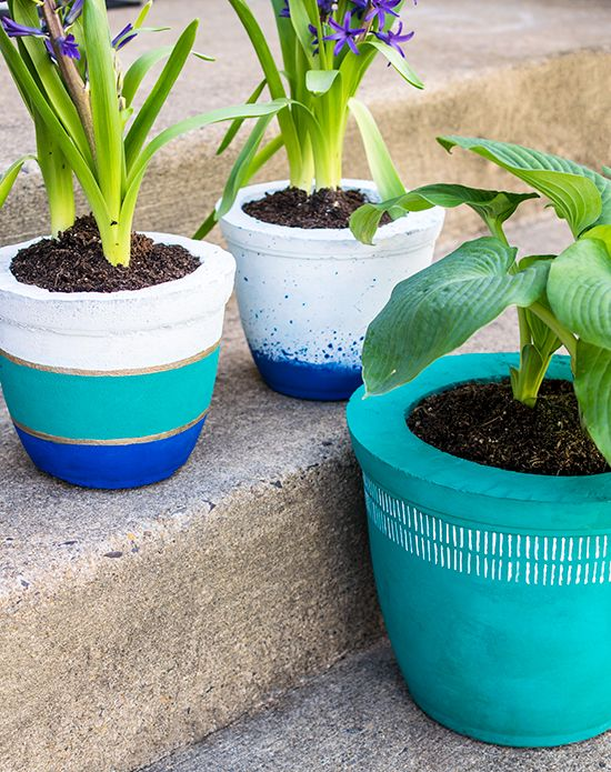 DIY Planter Ideas - DIY Concrete Pots by Craving some Creativity