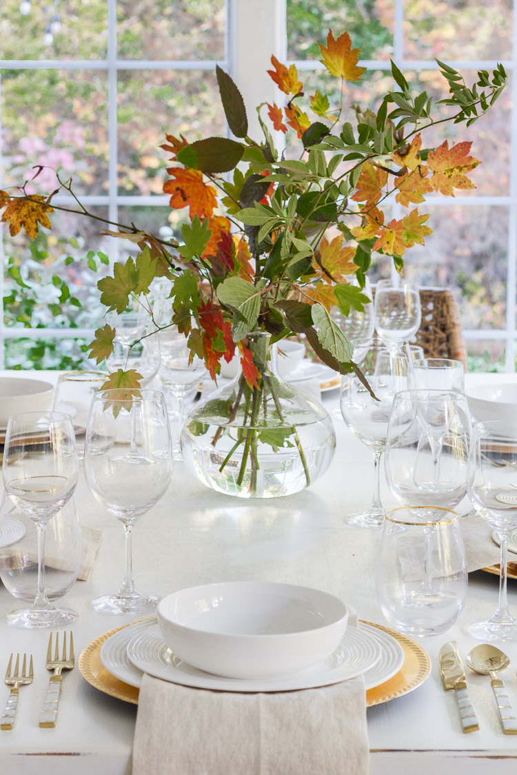 Fall Flower Arrangements and Vignettes - Gorgeous Fall Centerpiece by Zevy Joy
