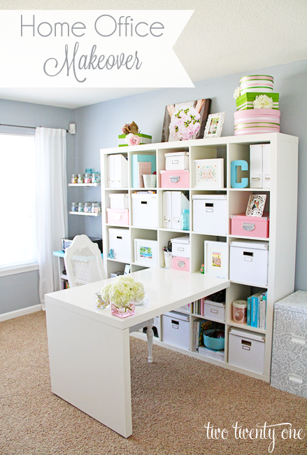 Home Office Makeovers by Two Twenty One
