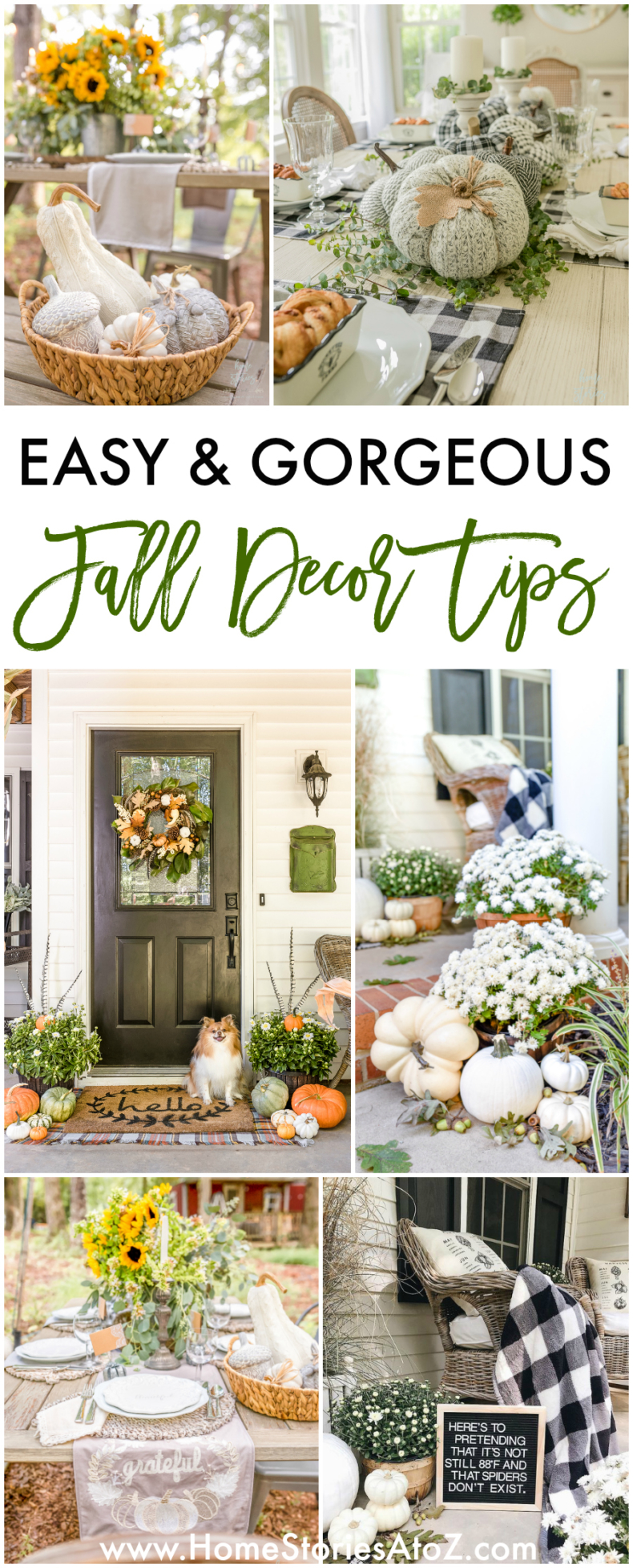 7 Easy Fall Decor Tips for your Fall Inspiration
