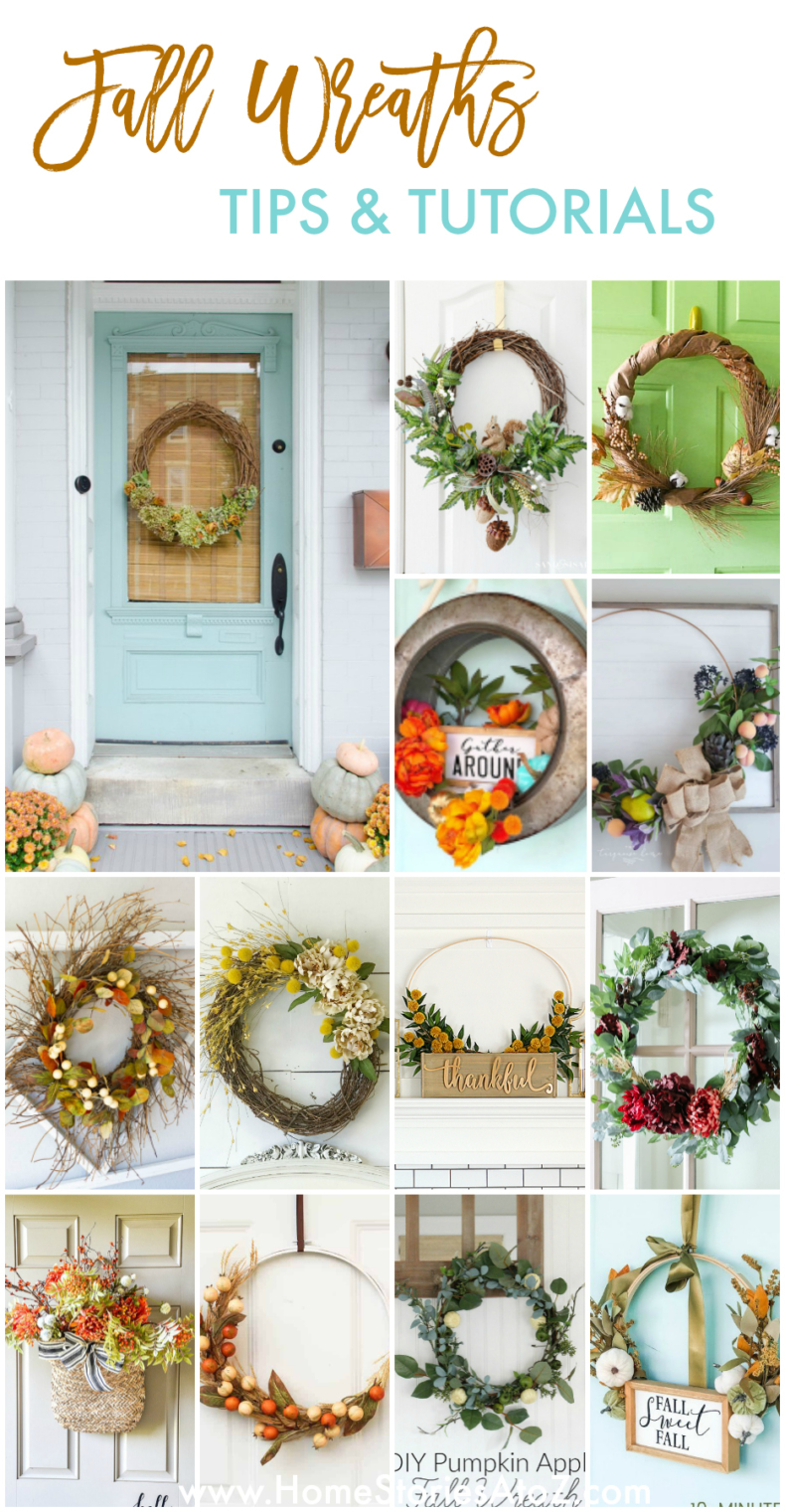 Fall Wreaths Tips and Tutorials