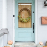 Gorgeous Fall Wreath Ideas - How to Make a Dried Hydrangea Wreath by Home Stories A to Z