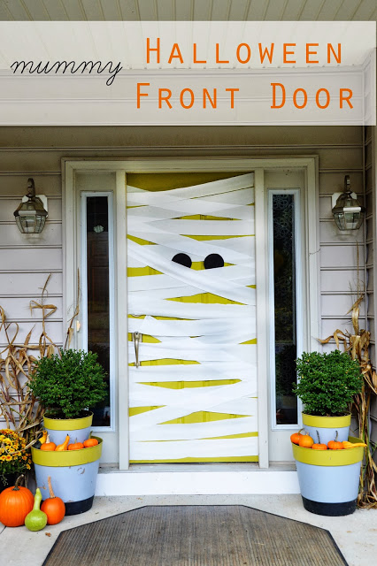 Halloween Porch and Door Ideas - East Coast Creative