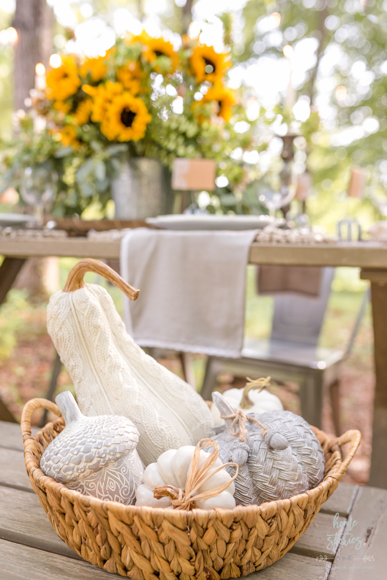 Simple Fall Decor - Pumpkin Collection by Home Stories A to Z
