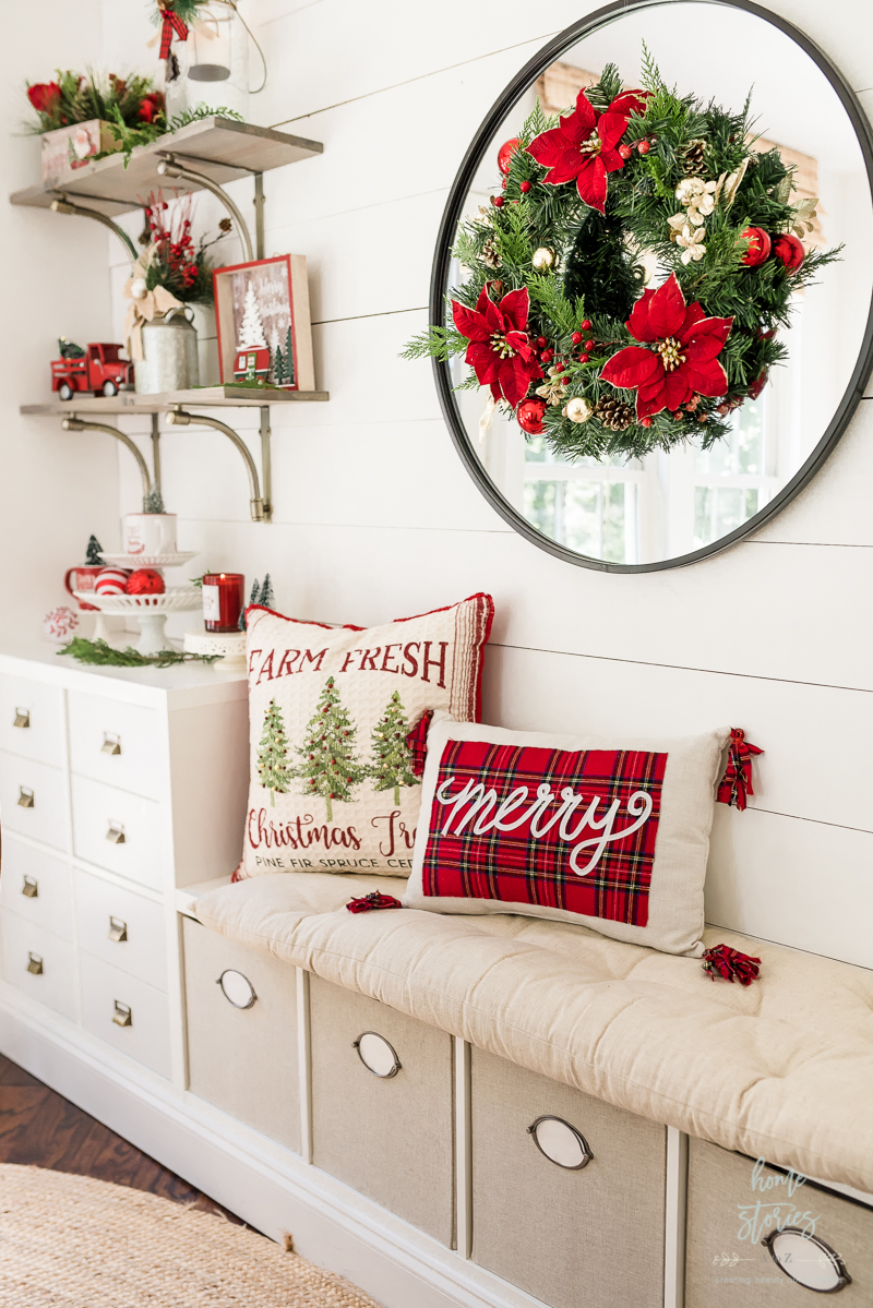 Christmas toss pillows