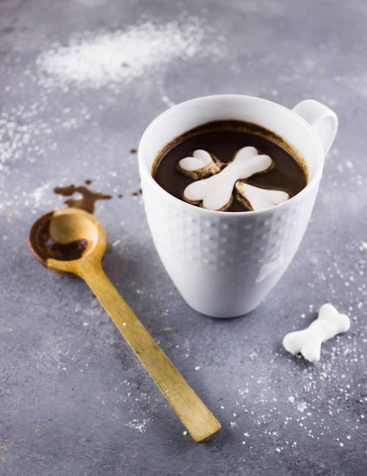 21 Halloween Treats - Marshmallow Bones by The Simple Sweet Life