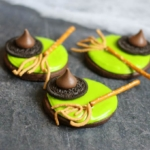 21 Halloween Treats - Melted Witch Cookies by The Decorated Cookie