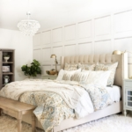 Fall Decor Ideas - Neutral Fall Bedroom by Home Stories A to Z