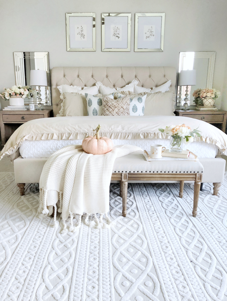 Fall Home Tour - My Texas House Bedroom Decor Idea