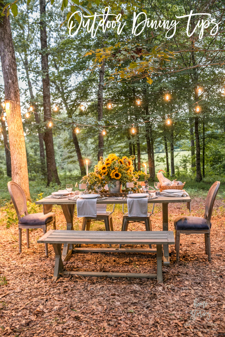 Outdoor Dining Tips -Home Stories A to Z