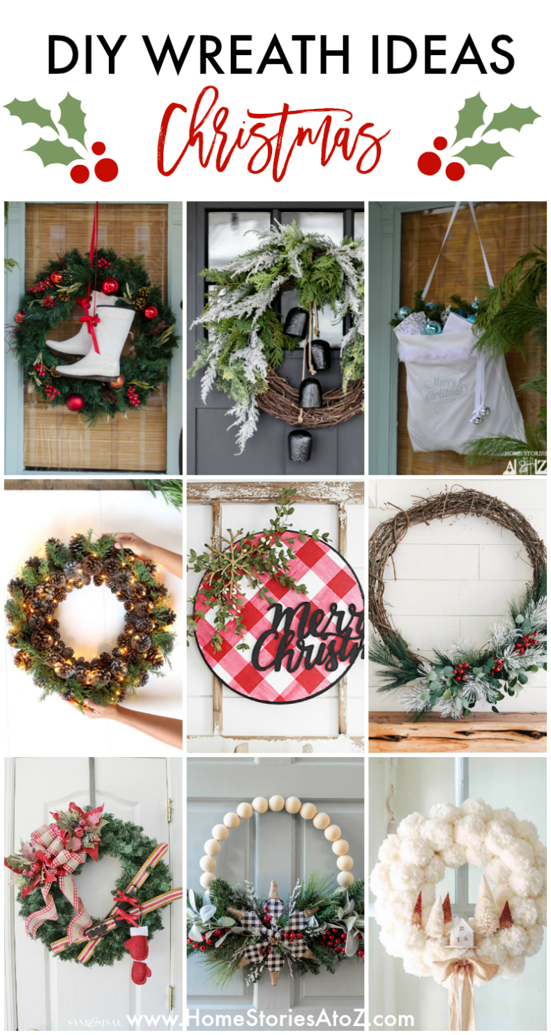 25 DIY Wreath Ideas for Christmas