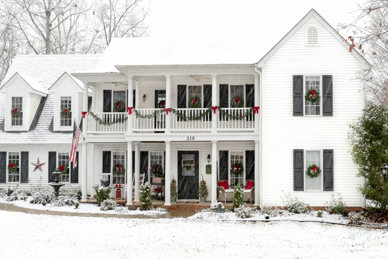 Traditional Christmas Decor Ideas - Christmas Decor Outside by Home Stories A to Z