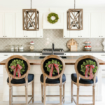 Traditional Christmas Decor Ideas - Christmas Kitchen by Home Stories A to Z