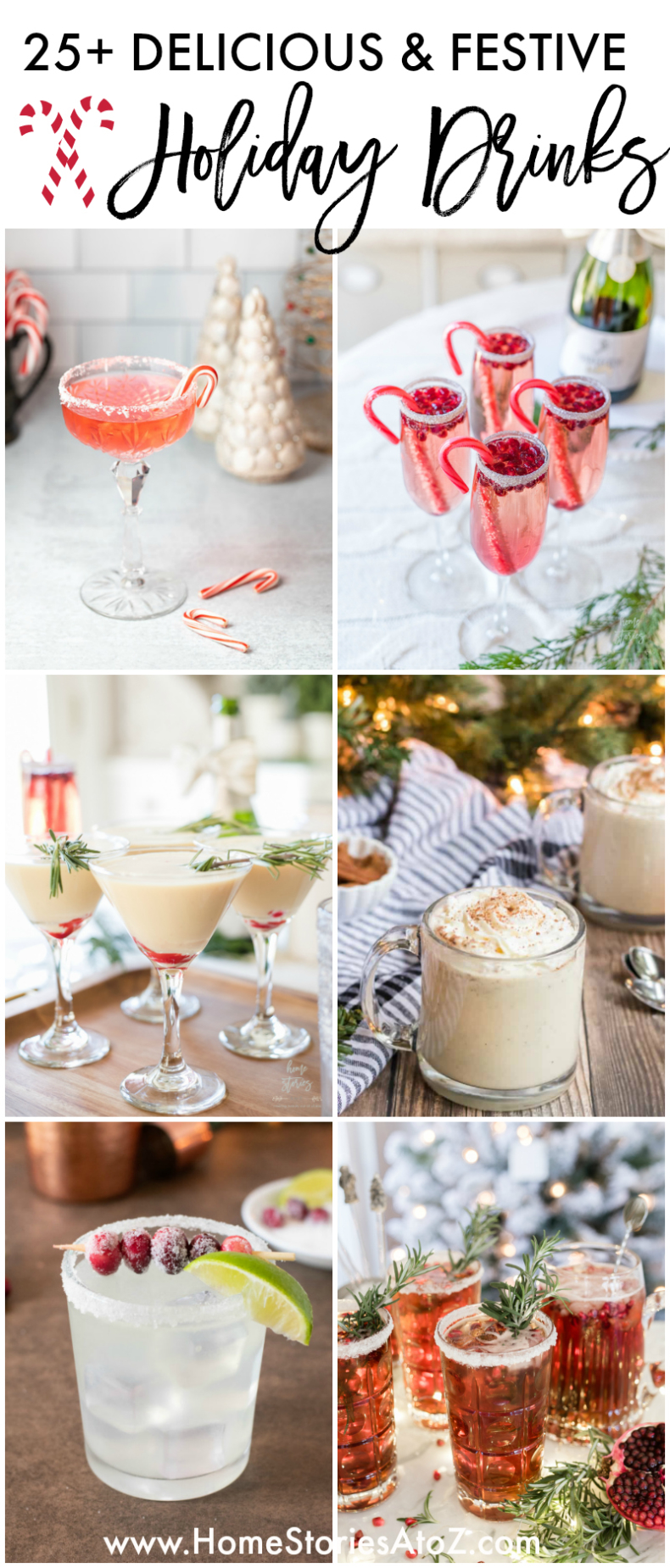 25+ Delicious and Festive Holiday Drink Recipes