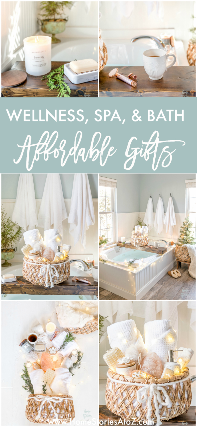 Affordable Gifts for Wellness, Spa, & Bath