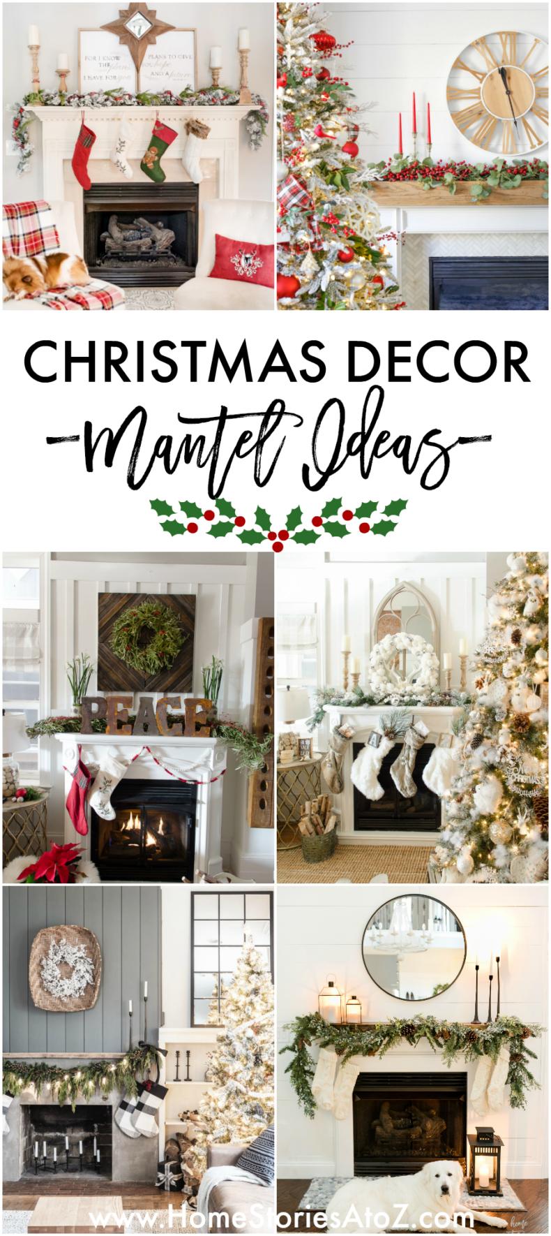 Christmas Decor - Mantel Ideas