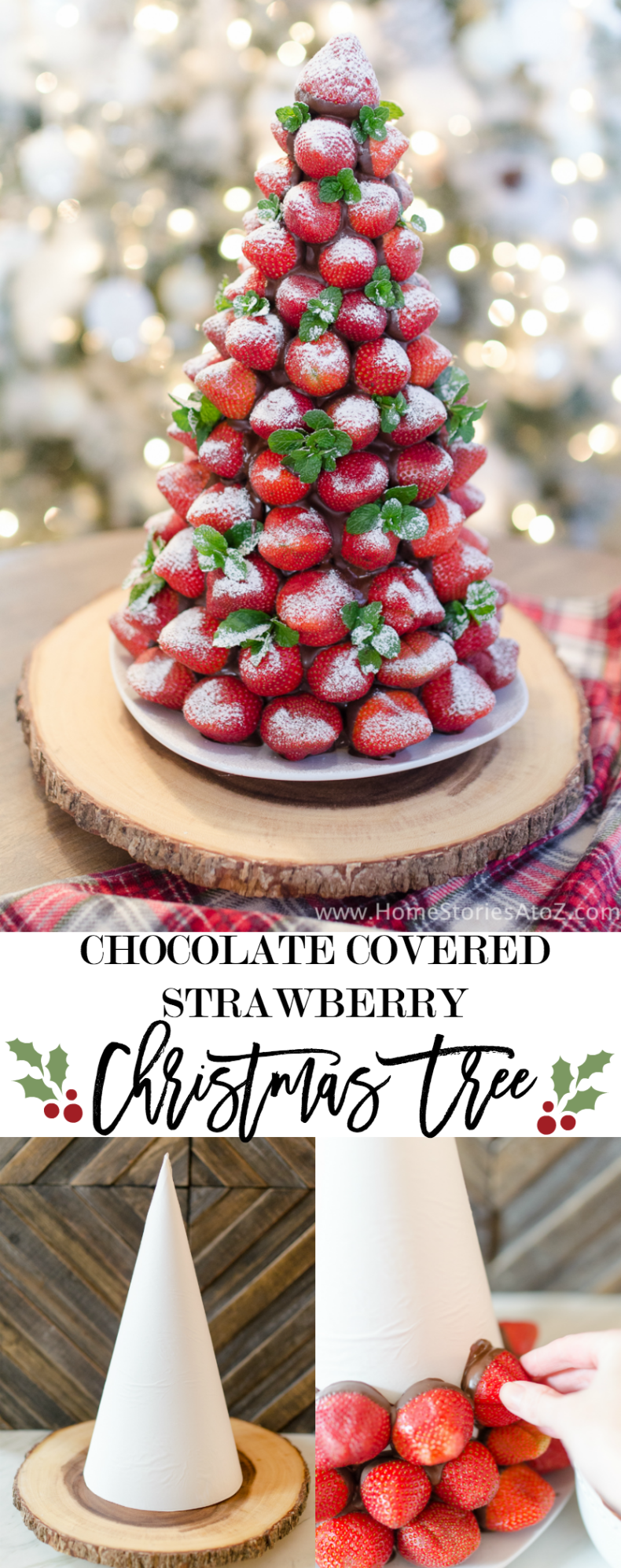 Chocolate Covered Christmas Tree by Home Stories A to Z