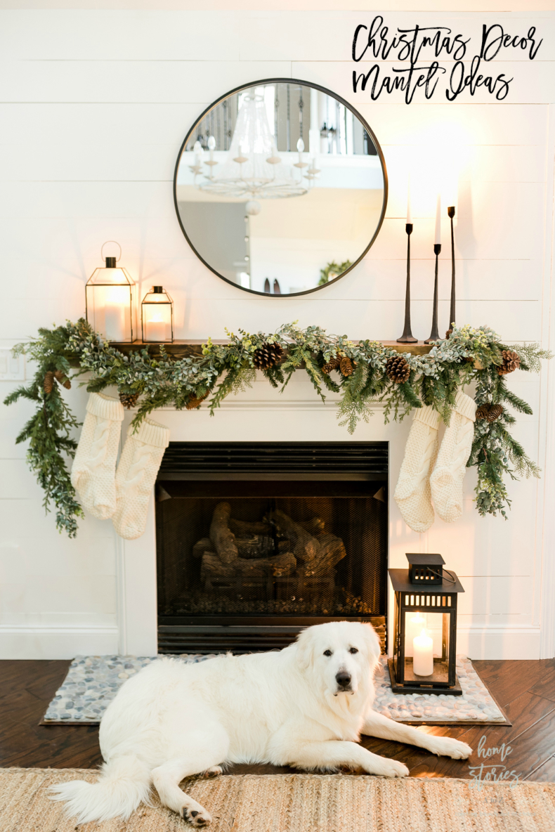 Christmas Mantel Decor Ideas - Home Stories A to Z