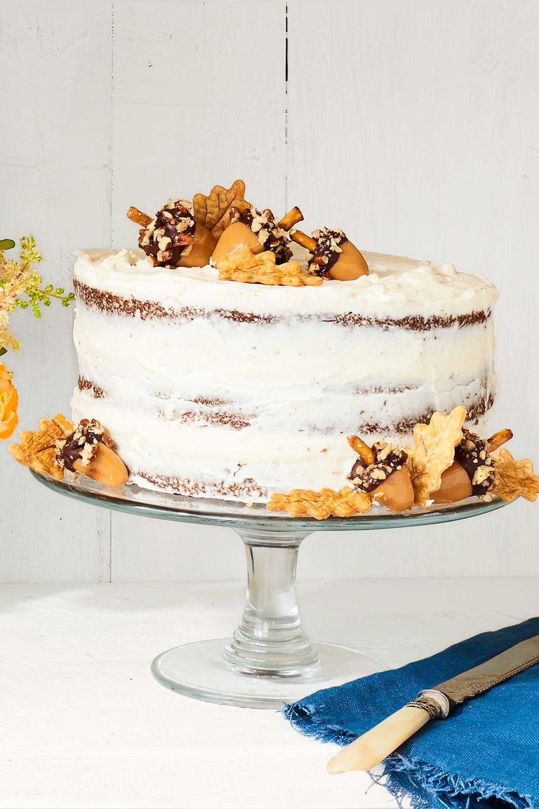 Elegant Christmas Desserts - Spice Layer Cake by Marian Cooper Cairns at CountryLiving