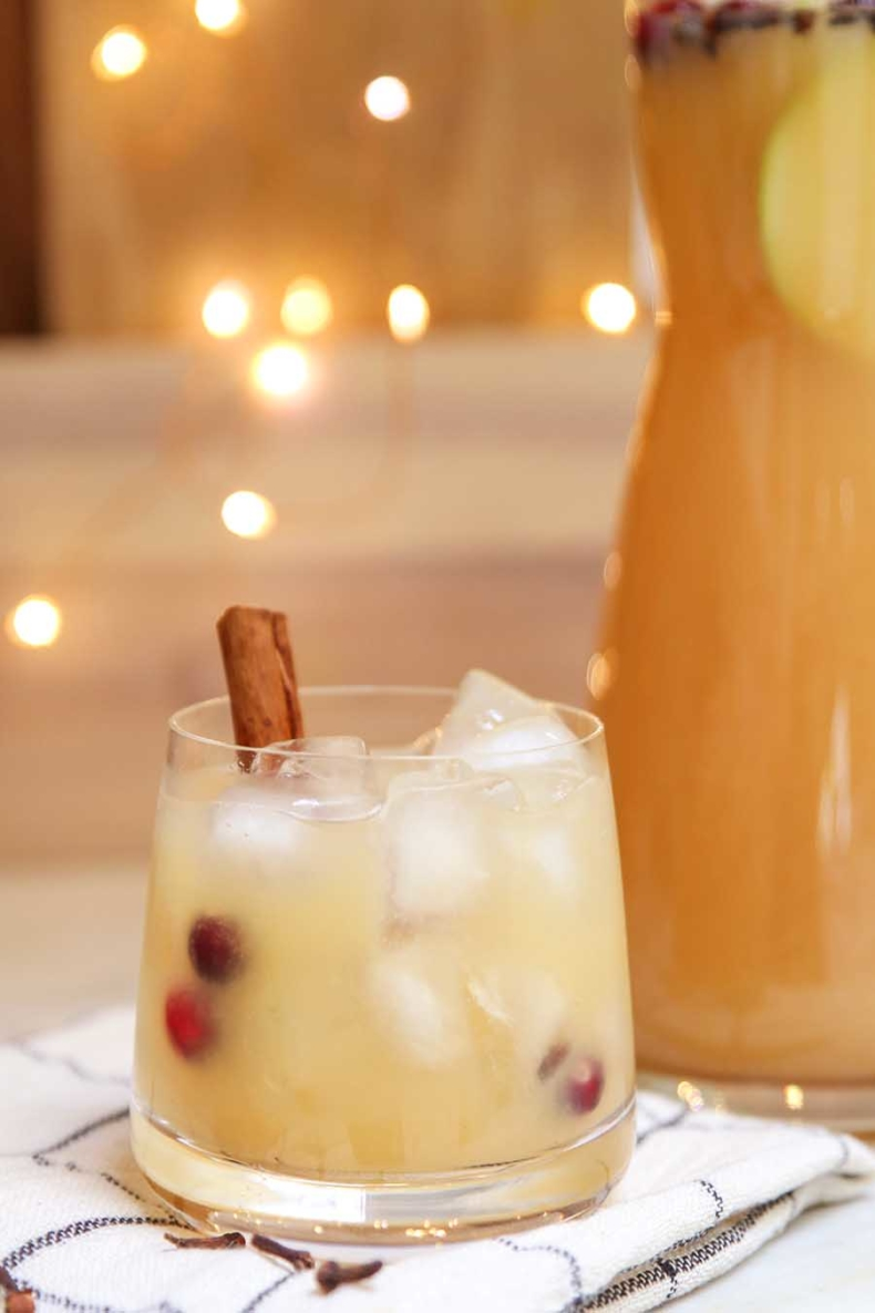 Holiday Drink Recipe - Thanksgiving Punch by Modern Glam