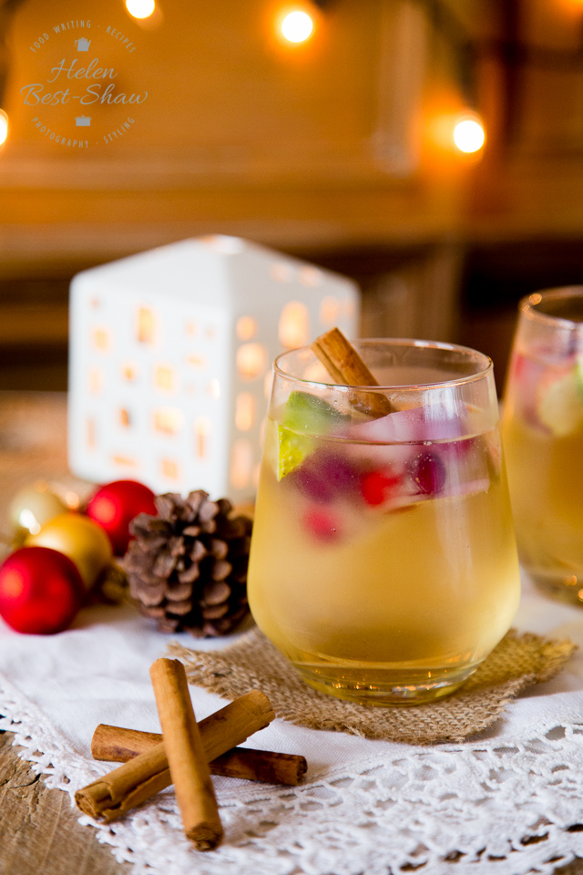 Holiday Drink Recipes - Appletiser Christmas Cocktail by Fuss Free Flavours