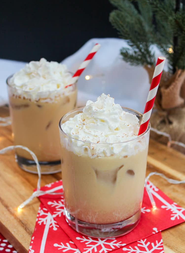 Holiday Drink Recipes - Eggnog White Russian by Cheesecurd in Paradise