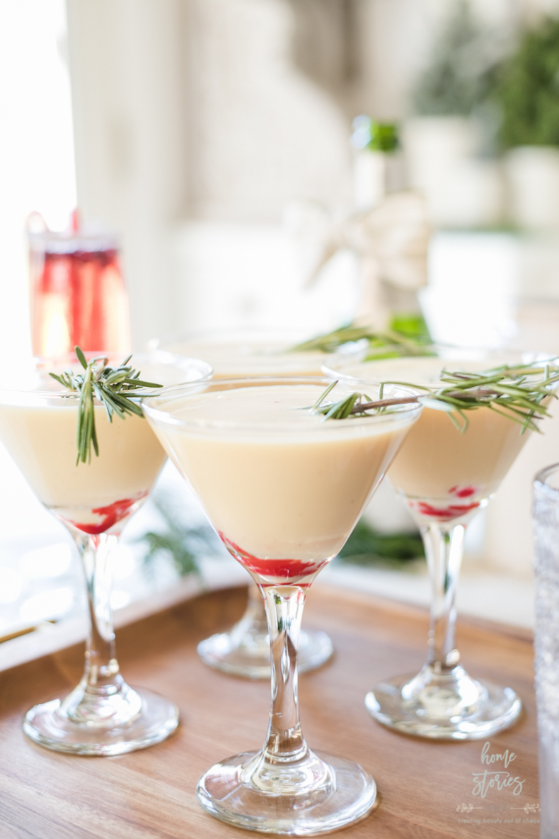 Holiday Drink Recipes - Fireball Eggnog Recipe by Home Stories A to Z