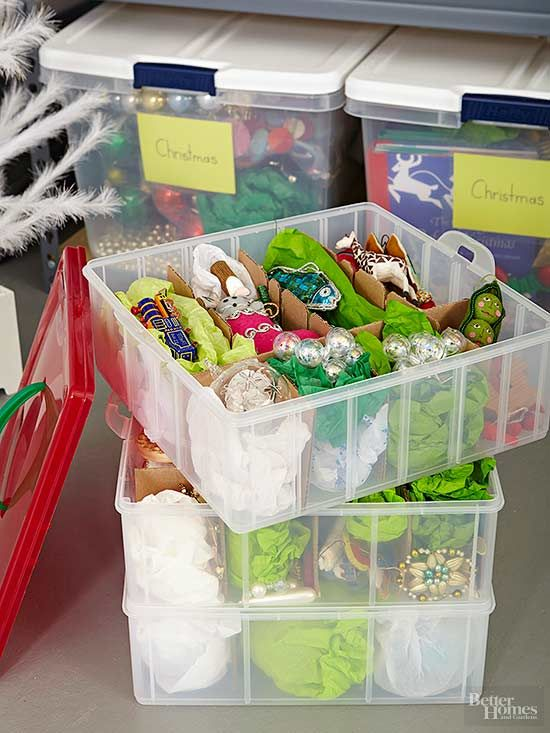 Tips for Storing Christmas Ornaments - BHG