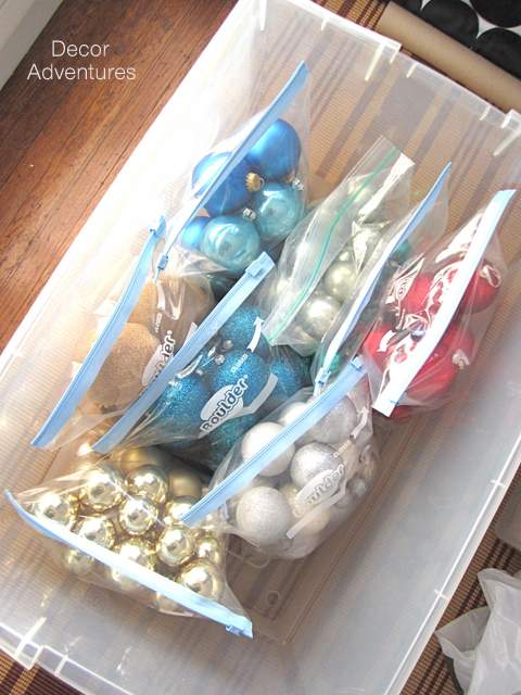 Tips for Storing Christmas Ornaments - Decor Adventures
