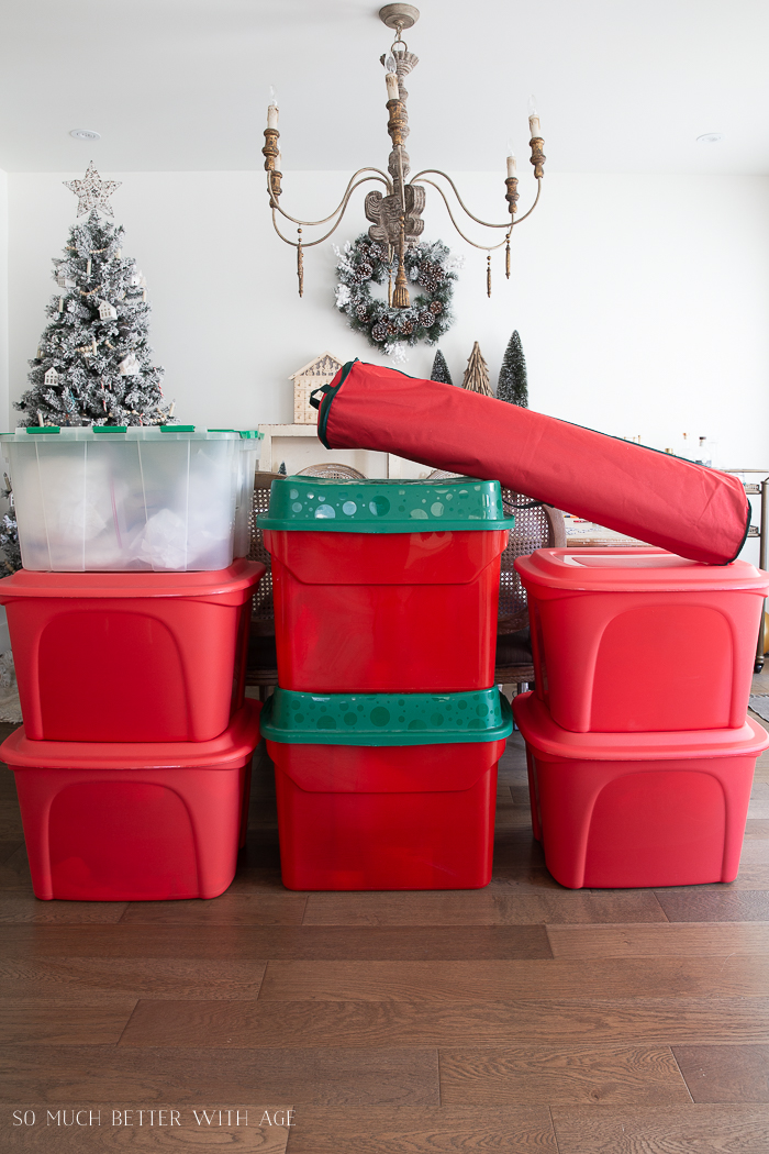 Tips for Storing Christmas Ornaments - How to Organize Christmas Decor by So Much Better With Age