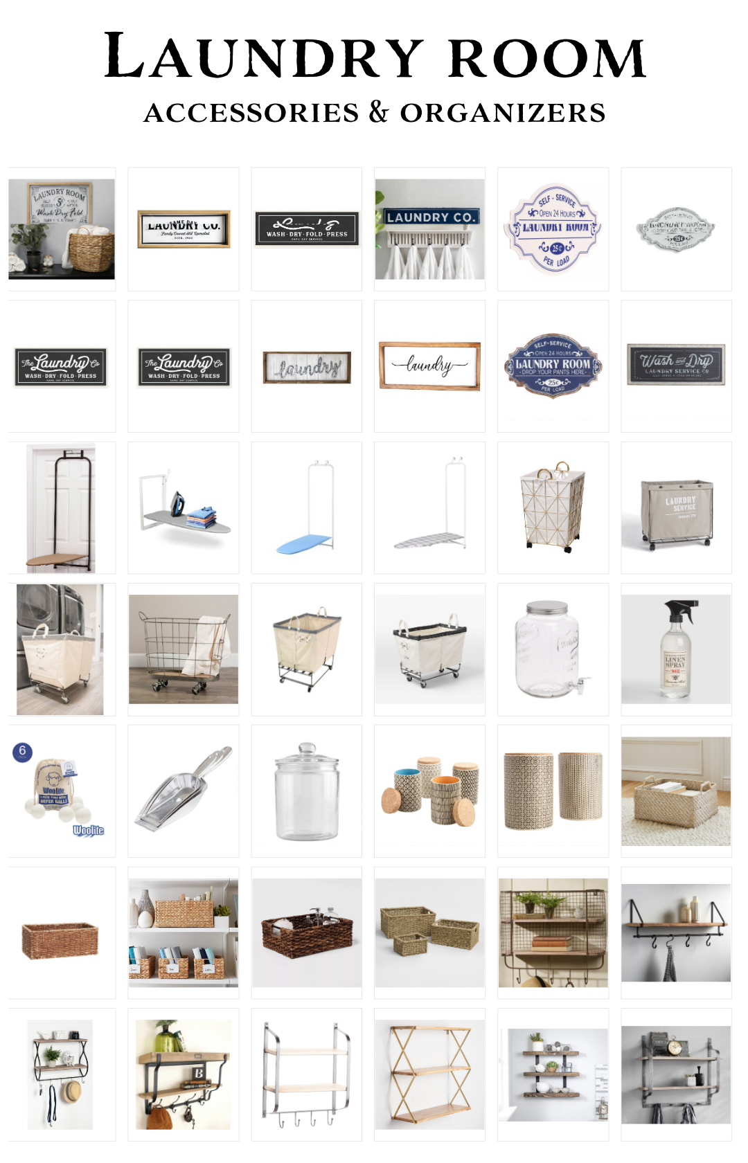 laundry room accessories laundry room organizers