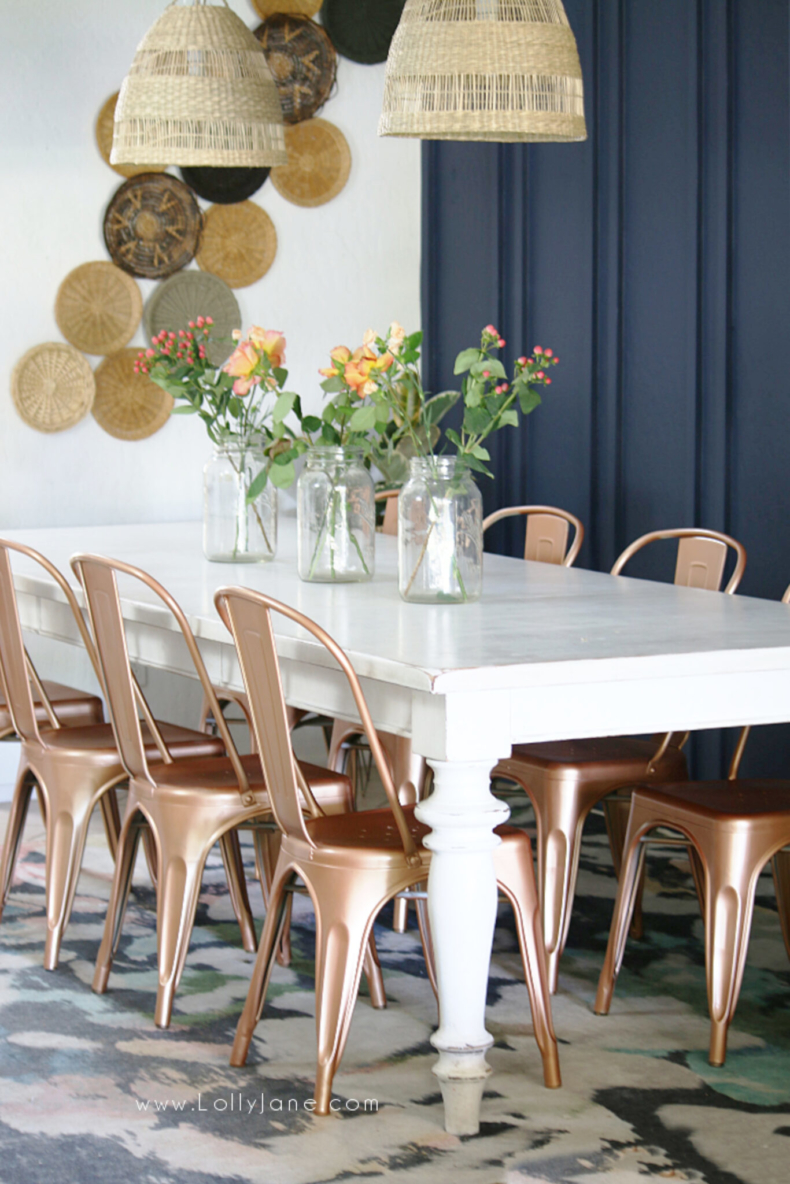Accent Wall Ideas - DIY Double Batten Wall Treatment by Lolly Jane