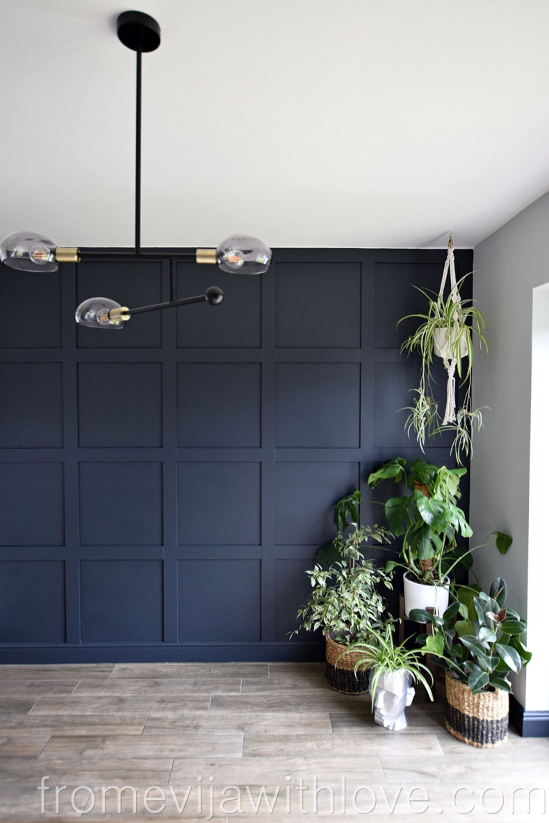 Accent Wall Ideas - Grid Wall by From Evija With Love