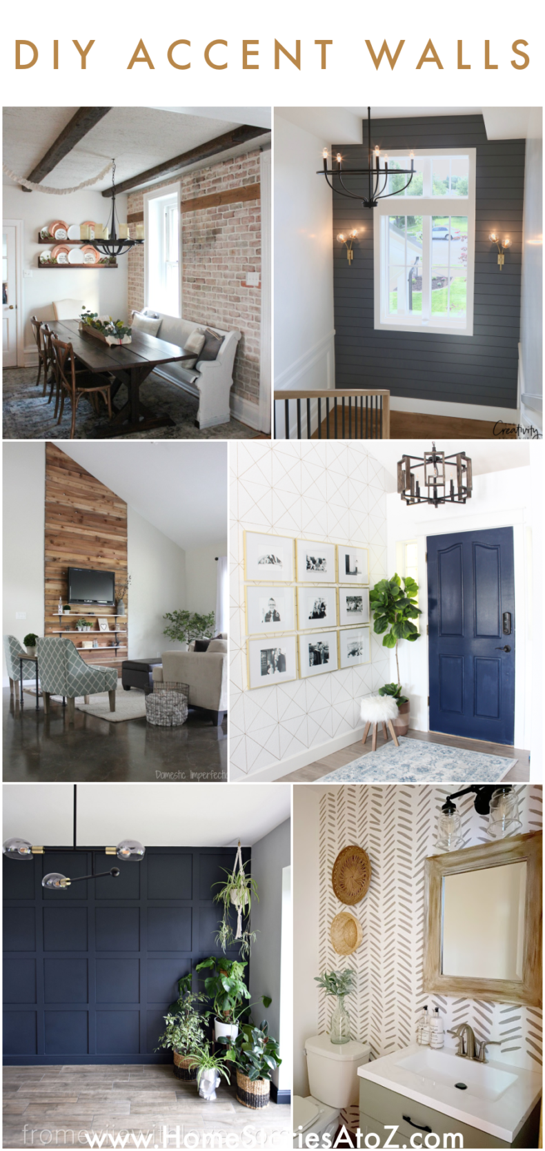 DIY Accent Walls - Transform Your Space