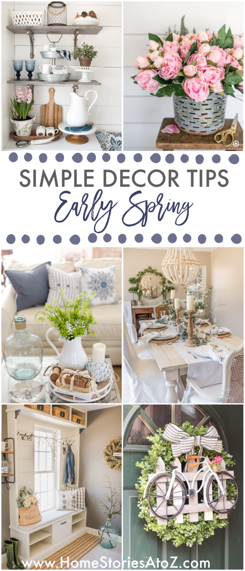 Early Spring Decor Tips - Home Stories A to Z