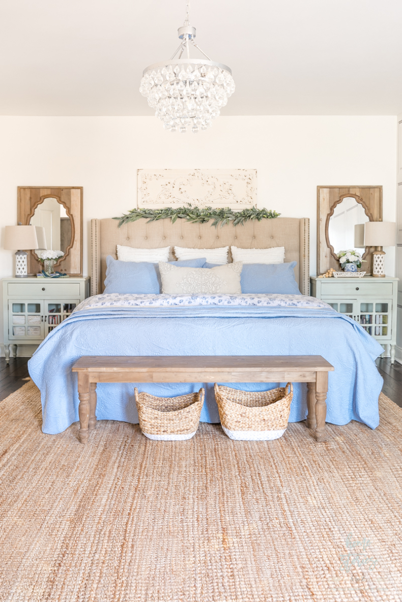 Spring Bedroom by Home Stories A to Z
